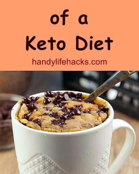 custom keto diet mug cake
