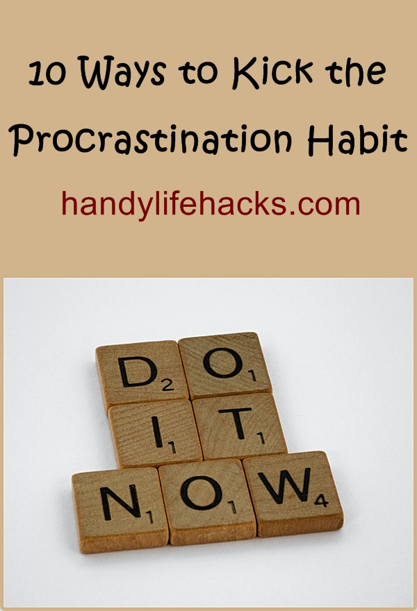 how to stop from procrastinating